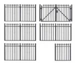 Faller 180958 Iron Fencing Kit I